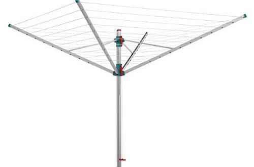 BLOME Waeschespinne Primera mit ca 60 m Leinenlaenge inkl Schutzhuelle 500x330 - BLOME Wäschespinne Primera mit ca. 60 m Leinenlänge, inkl. Schutzhülle und Bodenhülse